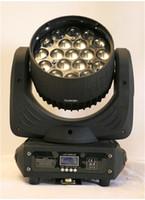 Musikstudio-Ausrüstung 19 x 10 Watt 4 in 1 Zoom-LED-Moving Head Wash RGBW DMX Moving Head Disco LED-Licht