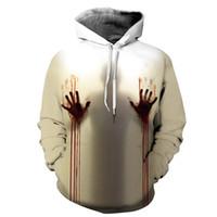 2020 Пара Толстовка 3D цифровой печати Толстовка Толстовка Holloween Baseball пальто свитера Лучшие Бесплатная доставка качества
