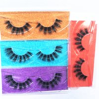 Seashine 2019 New Style 3D Mink Eyelashes Eyelashes Messy Ey...