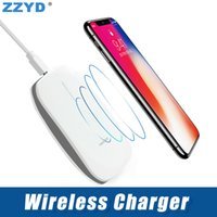 ZZYD Wireless Charger Qi Charging Pad Adapter with Anti- slip...