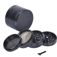 4 Layers Smoke Grinder 5 colors Metal Tobacco Grinder Smokin...