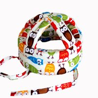 Baby crash hat, cotton baby toddler, drop- proof safety helme...