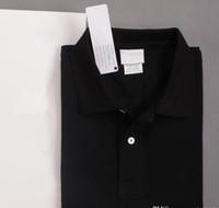 2020 Yaz Erkek Polo Gömlek Kısa Kollu Timsah Nakış Pamuk Slim Fit Casual İş Mens Marka klasik tişört En fiyatı vuruşu
