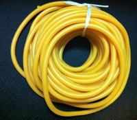 5 M Natural Latex Tubing Rubber Band 3x5mm Resilient Tube Fo...