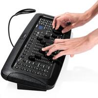 192 قناة DJ DMX512 مرحلة ضوء DMX تحكم مع عصا التحكم لأضواء دي جي، الليزر، نقل الرأس ضوء الاسمية، الرؤساء المتحركة والحانات والنوادي الليلية