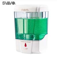 Erogatore detersivo del prodotto disinfettante del disinfettante della mano del sensore dell'erogatore automatico di sapone automatico di capacità 600ml fissato al muro per la cucina del bagno