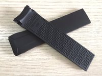 22mm T024417A Watch band Black Silicone rubber Strap Watch b...