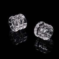 Diamantknoten einsetzen Abnehmbare Schüssel Nagel Fit für 25mm Rauchen Banger 10mm 14mm Quarz Thermische domellose Nägel