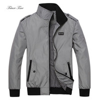 2018 Homens Winter Jacket Jackets inteligente suporte Casual Collar Sólidos Plus Size Zipper Casacos comercial masculino Silm Fit WY026 Jacket