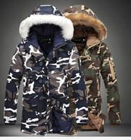 Yeni sıcak kış giyim erkek Giyim kadın kamuflaj pamuk ceket ceket çift aşağı kapüşonlu pamuk Parkas Kabanlar