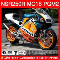 Bodys Pour HONDA NSR250R MC16 MC18 PGM2 NS250 88 89 78HM.59 NSR 250 R NSR250 R RR