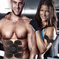 Beweglicher Muskel-Trainer-Abdominal- Muskel-Trainingsanreger Drahtloser EMS-Gurt-Gymnastik-Berufskörper, der Massager Home Fitness Gear abnimmt
