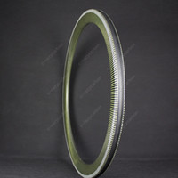 Hot OEM Free Coated Carbon Kevlar Bicycle Rims 700C 35MM Dep...