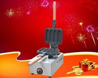 Livraison Gratuite Hot Dog Gaufres Machine Hotdog Gaufrier Cuisine Cuisine Appliance Type De Gaz Saucisse Gaufre Baker LLFA