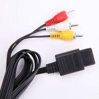 Новые AV Аудио Видео A/V ТВ кабель разъем шнура для Nintendo 64 N64 GameCube NGC SNES SFC контроллер консоли