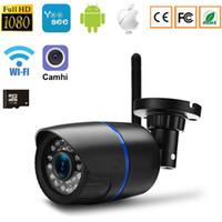 Caméra IP Wifi Caméra 1080P 960P 720P Réseau domestique CCTV Surveillance de bébé Caméras de sécurité Sans fil Filaire P2P Bullet Support de caméra extérieure 64G