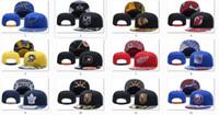 أحدث قبعات فريق الهوكي Snapback القبعات أسود اللون كاب الذهب / أسود / رمادي قناع فريق قبعات ميكس المباراة ترتيب جميع قبعات أعلى جودة قبعة