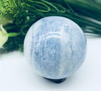 50mm Natural Crystal Blue Celestite Crystal SPHERE BALL HEAL...