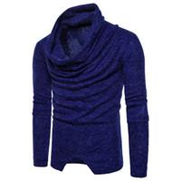 Maglioni da uomo 6 Solid Kinted Heaps Collar Fashion Eur Size Moduli Maglione Casual maschile per primavera Autunno Top Abbigliamento