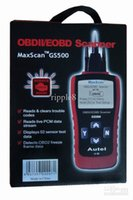 10 шт. GS500 Scan Can Can Can Can OBD II OBD2 Сканер для чтения Новый код Диагностический GS500 Инструмент автомобиля ISCBI