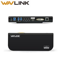 wavlink usb 3. 0 universal laptop docking station dual video ...