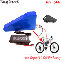 48v 1000w bafang lithium ion battery with triangle bag for e...