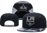 قبعات جديدة نيو جيرسي لوس أنجلوس الملوك الهوكي Snapback القبعات اللون الأسود كاب فريق قبعات ميكس المباراة ترتيب جميع قبعات أعلى جودة قبعة