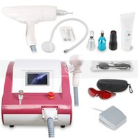 Salon use Q Switch Nd Yag Laser Tattoo Removal Machine Pigme...