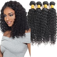 8a Brazilian Deep Wave Virgin Hair 4 Bundles Peruvian Indian...