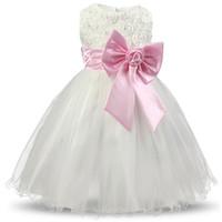 Çocuklar Kızlar Parti Giyim Bebek Kız Frocks Doğum Günü Kıyafetler Noel Kostüm Elbiseler Kızlar Genç çocuk Prenses Kız Elbise