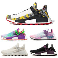 جديد فاريل وليامز س سباق أصول هو محاكمة الشمسية حزمة POW3R الإنسان الرجال النساء الاحذية أحذية رياضية أصيلة 36-45