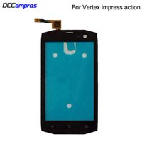 For Vertex impress action Touch Screen Glass Sensor Panel Le...