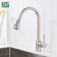 FLG mitigeur robinet de cuisine mitigeur tirez sur la cuisine robinet mitigeur mitigeur eau froide et chaude torneira cozinha