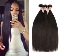 Indian Virgin Hair Straight 3 Bundles 100% Unprocessed Human...