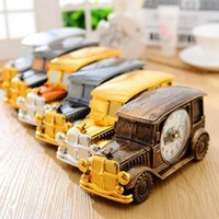 5PCS Desk Clock Novelty Gift Vintage Old Car Alarm Clock Hom...