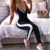 Fitness Clothing Yoga Women 2018 Solid One- Piece Sport Suit ...