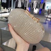 Shinny Bling Diamonds Gold Silver Bridal Hand Bags 2018 Hot ...