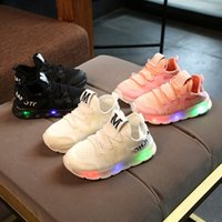 New brand cute LED lighting baby shoes hot sales Lovely kids...