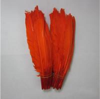Atacado 200 PCS de Alta qualidade bonito pena de ganso 20-30 cm / 8-12 polegadas DIY cor você escolhe decoração de mesa de Casamento