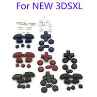 Originale R L ZR ZL Button Parts D Pad ABXY Home Power Tastiera Set completo di tasti per il nuovo 3DS XL LL per il NUOVO 3DSLL 3DSXL di alta qualità VELOCE VELOCE