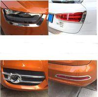 Yüksek kaliteli araba Ön sis lambası dekorasyon kapağı, far, arka sis lambası kapağı, Audi Q3 2013-2015 için arka lambası kapağı Döşeme