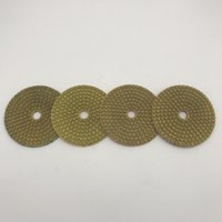 Diamond Metal Polishing Pad 4 inch (100 mm) Copper Bond Grin...
