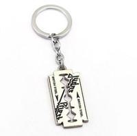 HSIC İngiliz Rock Grubu Judas Priest 2 Metal Anahtarlık Kolye Moda Anahtarlık Chaveiro Anahtarlık Erkekler Için HC12148
