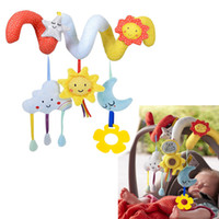طفل سرير تدور لعبة عربة سرير الرضع اللعب لعبة سرير مخرطة شنقا طفل خشخيشات المحمول