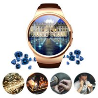KW18 Bluetooth Smart Watch 1. 3 inches IPS Round Touch Screen...