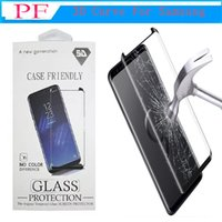 Case Friendly Tempered Glass 3D Curved For Galaxy S9 Plus No...
