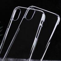 Для iphone X 8 ультра тонкий кристально чистый прозрачный ПК жесткий чехол для iPhone 7 для Samsung Galaxy S8 Примечание 8 пластиковые Sheild защитная крышка
