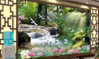 Custom 3d wallpaper for walls 3d photo wallpaper landscape m...