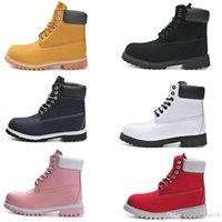 Winter men women waterproof outdoor boots brand couples genu...