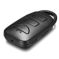 32GB bellek Full HD 1080P Araç Anahtarı Kamera Ayrı ses kaydı Hareket Algılama Mini DV DVR Anahtarlık Video Kaydedici PQ247